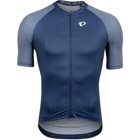 PEARL iZUMi Interval Kurzarm Trikot Herren navy/white bevel
